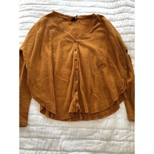 Urban Outfitters Jojo Oversized Top